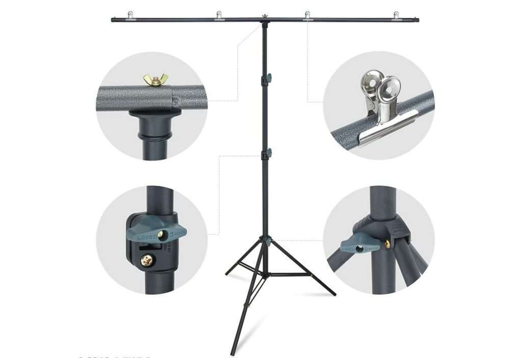 Linco Lincostore Zenith Portable T-Shape Background Backdrop Stand